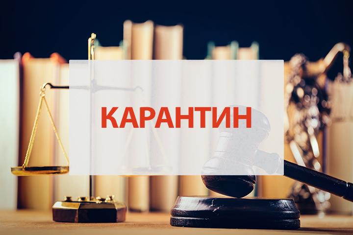 Забезпечення права громадян на судовий захист в умовах карантину